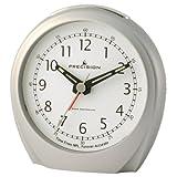 Precision MSF Radio Controlled Alarm Clock, Silverby Precision