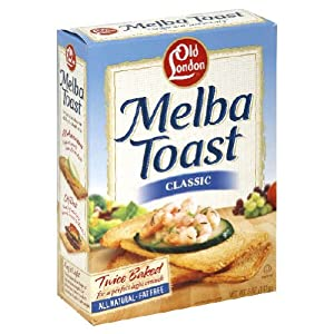 Old London Melba Toast, Classic, 5-Ounce Boxes (Pack of 12)
