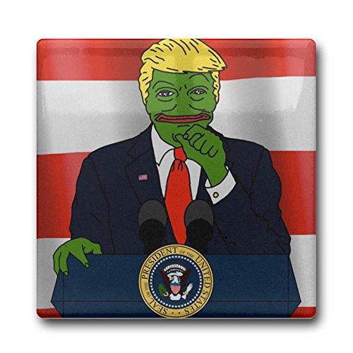[DEMOO Pepe The Frog Trump Coasters] (Best Internet Meme Costumes)