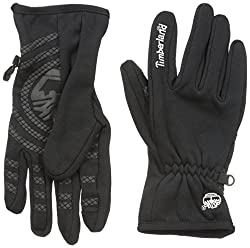 Timberland Men's Stretch Glove with Tree Logo and Touch Screen Technology