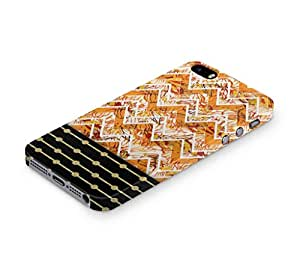 Cover Affair Pattern / Polka Dots Printed Back Cover Case for Apple iPhone 4