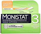 Monistat 3 Vaginal Antifungal 3-Day Treatment Combination Pack