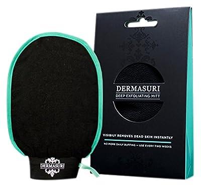 Dermasuri Deep Exfoliating Mitt Body Scrub