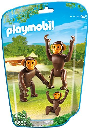 PLAYMOBIL Chimpanzee Family Building Kit - 1