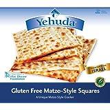 Yehuda Gluten Free Matzo Squares, 10.5 Ounce -- 12 per case