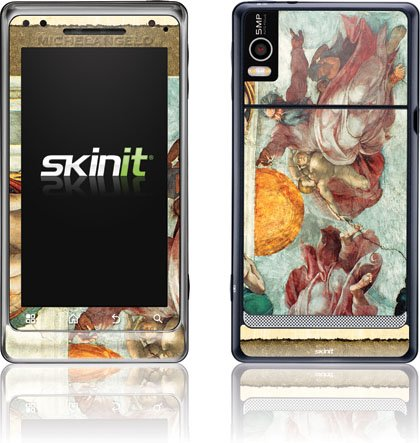 Michelangelo - Creation of the Sun and Moon - Motorola Droid 2 - Skinit Skin used 90% new original for hp m435 m706 duplexer unit assembly a3e46 67901 a3e46a printer parts on sale