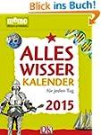 memo Alleswisser Kalender f�r jeden T...