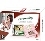 echange, troc Console DS lite rose + Nintendogs labrador et ses amis