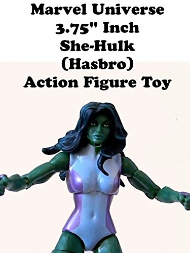 "Marvel Universe 3.75"" inch SHE-HULK action figure toy Hasbro Avengers"