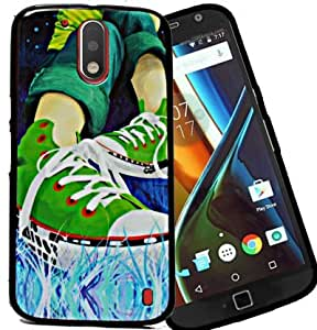 Exclusive Sparkle Printed Soft Back Case Cover Back Cover For Motorola Moto G4 Plus / G Plus (4th Generation ) - Shoes