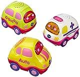 VTech 80-203954 - Tut Tut Baby Flitzer - Set 5 Auto, pink