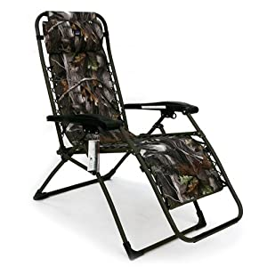 Camo anti gravity lounger patio recliners for Anti gravity suspension chaise lounge