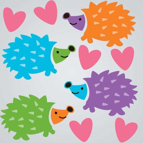 GelGems Hedgehogs Small Bag Gel Clings - 1