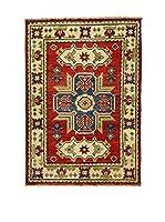 L'Eden del Tappeto Alfombra Uzebekistan Super Multicolor 60 x 89 cm