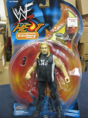 WWF Triple H - Sunday Night Heat - 2001 Rebellion Series 3 Action Figure by Jakks Pacific