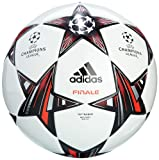 Adidas Herren Ball Finale 13 Top Trainingsball, White/Black/Metallic Silver, 5, G73461 thumbnail