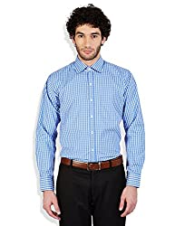 Arihant Men's Cotton Checkered Formal Shirt (AR73090244)