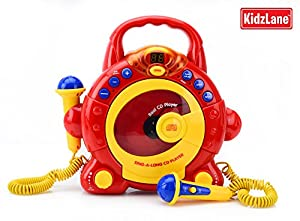 Sing Along CD Player - Red CD s CD players ELC