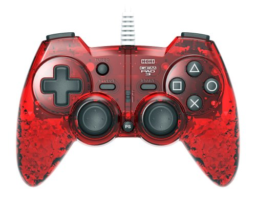 HORI PlayStation 3 GEM PAD 3 - Ruby Red