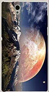 Incredible multicolor printed protective REBEL mobile back cover for Blackberry Z10 D.No.N-R-4771-BBZ10