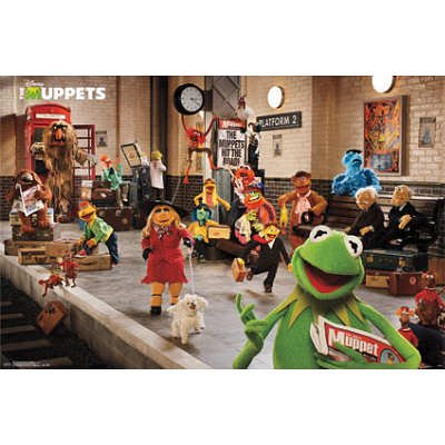 (22x34) Muppets Most Wanted - Platform Movie Poster