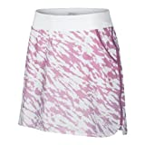 Nike Golf Women's Print Knit Skort Ion Pink/White/Neutral Grey