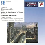 Rhapsody in Blue / Nights in the Gardens of Spain Gershwin^Falla^Entremont^Ormandy