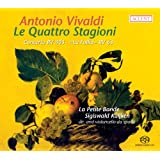 ヴィヴァルディ:四季 他 (Antonio Vivaldi : Le Quattro Stagioni / La Petite Bande, Sigiswald Kuijken) [SACD Hybrid] [輸入盤・日本語解説書付]