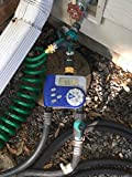 Hose Splitter+Straight Faucet & Hose Extension With Valve