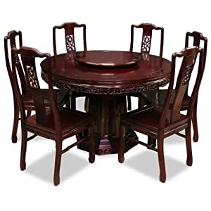 Hand crafted 48in flower and birds design for Dining room tables on amazon