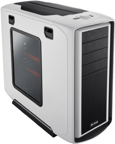 Cosair Special Edition Graphite Series 600T Mid-Tower Gaming Case - White