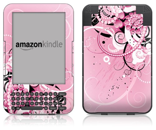 DecalGirl Kindle Skin (Fits Kindle Keyboard) Her Abstraction (Matte Finish)
