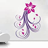 Decal Style Rose Swirl Wall Sticker Large Size-19*28 Inch