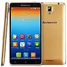 Lenovo S8 S898T+ Unlocked Smartphone MTK6592 Octa Core RAM 2GB ROM 16GB 5.3 Inch Android 4.2 IPS Screen 1280x720 13MP GSM Network (Golden)