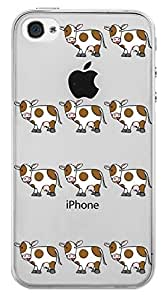 WOW Transparent Printed Back Cover Case For Apple iPhone 4S