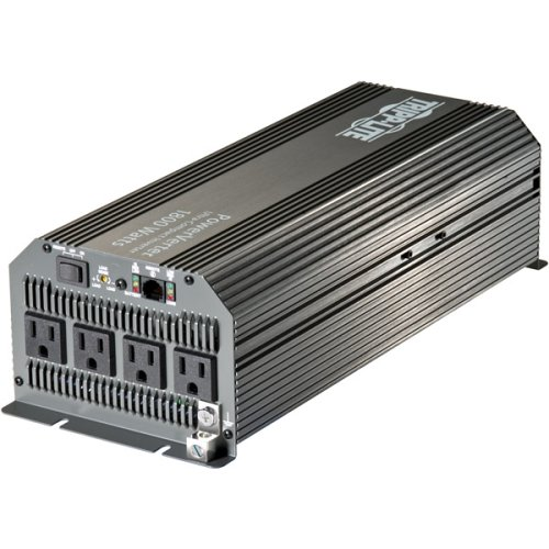 Tripp Lite PV1800HF Compact Inverter 1800W 12V DC to AC 120V 5-15R 4 Outlet 4000watt dc to ac solar power inverter 24v to 100v 110v 120v 220v 230v 240v 4kw pure sine wave inverter