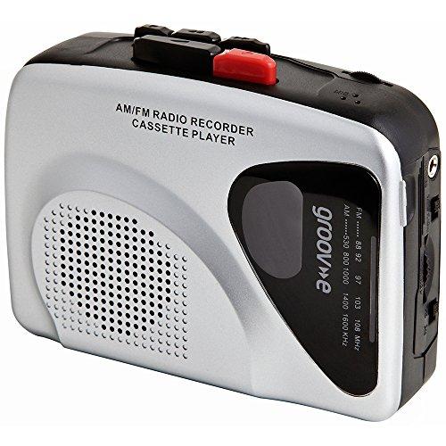 Groov-e Séries Rétro Cassette Personnelle Lecteur Enregistreur Walkman Radio
