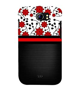 Lovely Flowers Girl Design Cute Fashion 3D Hard Polycarbonate Designer Back Case Cover for Micromax Canvas 2 A110Q :: Micromax A110Q Canvas 2 Plus :: Micromax Canvas 2 A110