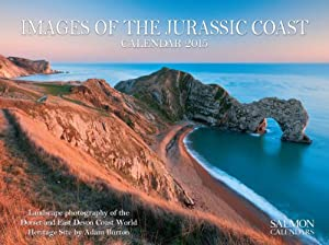 Images Of The Jurassic Coast Medium Wall Calendar 2015