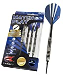 Target Darts Match Play Natural Tungsten Soft Tip Darts, 20gm, Style 03