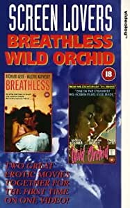 Breathless / Wild Orchid [VHS] [Import anglais]