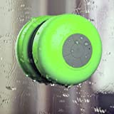 Vagus ElectronicsTM - Mini Waterproof Wireless Bluetooth In-Shower Speaker for iPhone, 3, 3GS, 4, 4S, 5, all HTC, HTC One S, V, X, XL, HTC Desire, C, HD, S, Z, HTC Sensation, XE, XL, HTC Wildfire, S, HTC 7 Pro, ChaCha, Incredible S, Radar, Trophy, Salsa,