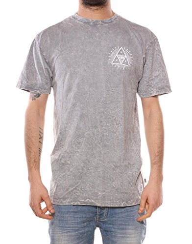 HUF - THIRD EYE TRIANGLE GREY HETHER GREY