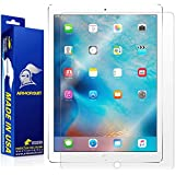 "ArmorSuit MilitaryShield - Apple iPad Pro 12.9"" Screen Protector Anti-Bubble Ultra HD & Touch Responsive + Lifetime Replacement"