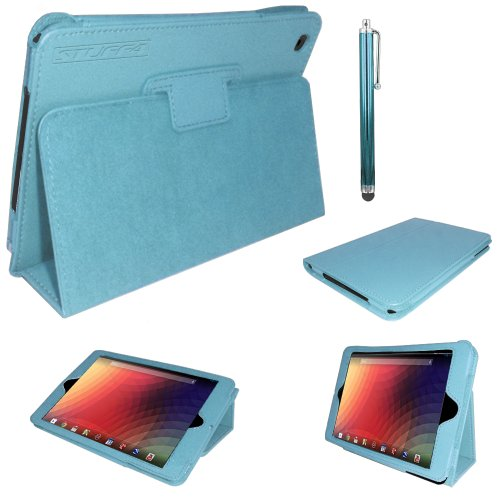 stuff4-pu-leather-professional-portfolio-magnetic-case-stand-cover-for-google-nexus-7-blue