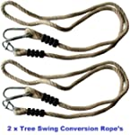 Tree Swing Conversion Rope - Pack with 2