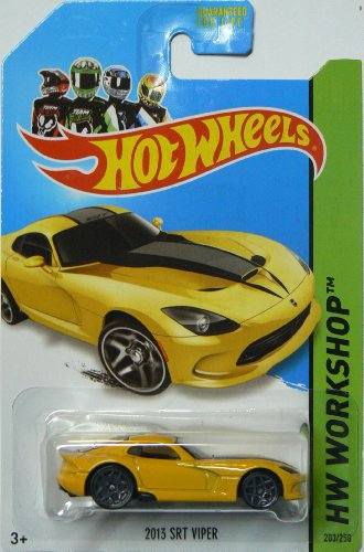 Hot Wheels Hw Garage 2014 Hw Workshop Yellow 2013 SRT Viper 203/250