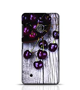 Stylebaby Phone Case Cherry Back Cover For Nokia Lumia 530 Multicolor