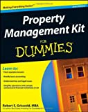 img - for Property Management Kit For Dummies by Robert S. Griswold (29-Aug-2008) Paperback book / textbook / text book