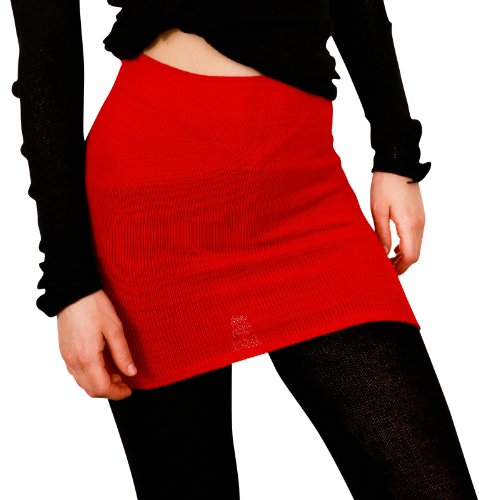 New York Black Small Yoga & Dance Stretch Knit Skirt Fashion Versatile High To Low Rise Perfect Over Tights Or Bikini Made In Usa